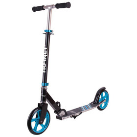 HUDORA Hornet Trottinette de ville Enfant, black/light blue